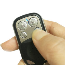433 MHz Remote Control ABCD 4 Channel Electric Gate Car Garage Door Remote  Controller Cloning Duplicator Rolling Code Key Fob