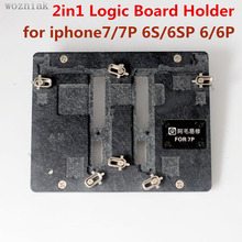 Buy 2in1 Motherboard Clamps High Temperature Main Logic Board PCB Fixture Holder iPhone 6 6p 6S 6sP7 7pFix Repair Mold Tool for $27.80 in AliExpress store