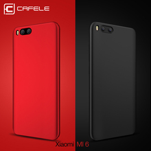CAFELE Hard PC Case For xiaomi MI6 Back Protect Skin Ultra Thin Anti-fingerprint micro Scrub Phone case for xiaomi MI5s plus(China)