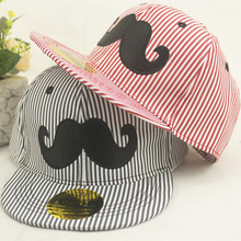 2015 Promotion Casual Character A New Fringe Moustache Children In Spring And Summer Hat Hip-hop Flat Along The Baseball Cap