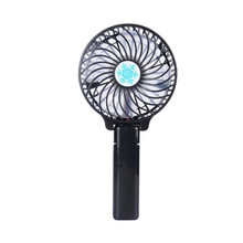 2017 Foldable Hand Fan Battery Operated USB Power Handheld Mini Cooling Desktop Fan with Hanger for Computer PC