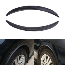 POSSBAY Wheels Lip Fender Flares Auto Car Protector Decoration Strip Mud Guards Fit Nissan VW Polo Mazda Honda Civic Ford Facus(China)