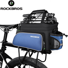 Buy ROCKBROS Bike Seat Bag Rear Backpack Trunk Cycling Pannier Package Large Capacity Bicycle Accessories MTB Cycle Bicicleta Bag for $29.89 in AliExpress store
