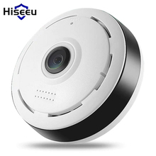 Buy Hiseeu HD FishEye IP camera 960P 360 degree Full View Mini CCTV Camera 1.3MP Network Home Security WiFi VR Camera Panoramic IR for $28.49 in AliExpress store