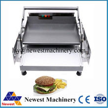 Free Shipping electric  2layers innovative product hamburger machine /commercial hamburger Maker/ board bun toaster for sale