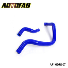 AUTOFAB -turbo intercooler radiator pipping silicone hose Kit 2pcs For Honda Accord F20 94-97 (2pcs) AF-HDR007