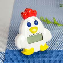 Magnetic Chicken-shaped Kitchen Countdown Cooking Electronic LCD Digital Timer Timing Alarm