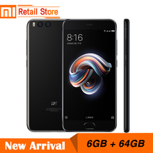 "Global ROM Xiaomi Mi Note 3 Note3 12MP Dual Camera 16MP Front Camera 5.5"" Snapdragon 660 Octa Core CPU 6GB 64GB Face Unlocked(China)"