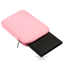 2017 macio forro tablet sleeve bag bolsa para apple ipad mini 1/2/3/4 ar 1/ar 2 capa case para ipad pro 9.7 polegadas + stylus pen