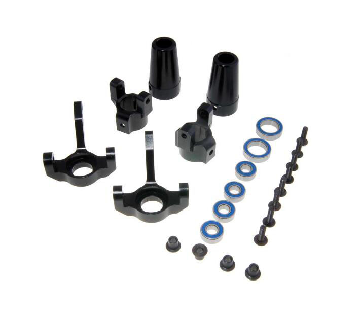 Free Shipping Aluminium alloy Base C Hub carrier steering cup kit set spare parts for AXIAL SCX10 RC Crawler truck car<br>