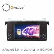 Ownice C500 Android 6.0 Quad Core 7 Inch Car DVD Player For BMW E46 M3 MG ZT Rover 75 Radio GPS Navigation Bluetooth wifi 4G