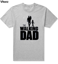 Buy Casual WALKING Dad Party T Shirt Novelty Funny Tshirt Mens Clothing Short Sleeve Camisetas T-shirt for $8.89 in AliExpress store