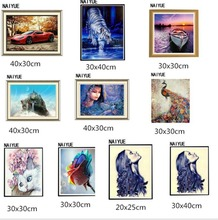 Creative 5D Diy Diamond Painting partial Round Diamond Mosaic Pasted Embroidery Needlework Cross Stitch Kits Crafts(China)