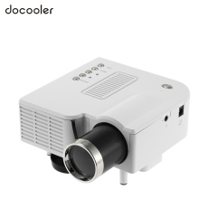 White Mini LED Projector HDMI Home Cinema Theater Digital Video Game Projectors Multimedia Player AV VGA USB SD