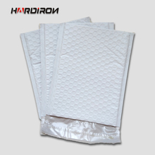 HARD IRON White color self-adhesive poly mailer bag Bubble Buffer Envelope Logistics  Express Bags