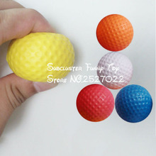 JIMMY BEAR 1 Pcs Golf Ball Exercise Stress Relief Squeeze Elastic Soft Foam Ball Toy