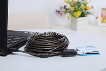 5pcs/lot 33FT 10m USB extension cable high speed usb cable with usb signal power amplifier