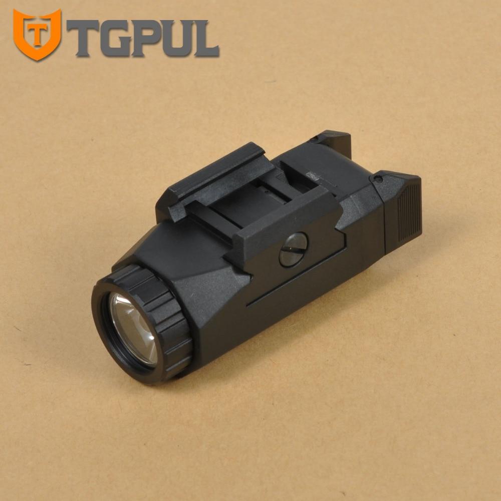 TGPUL  Inforce Auto Pistol Light APL Tactical Gun Weapon Lights Constant and Strobe Flashlight fit 20mm Pictinny Weaver Rail<br>