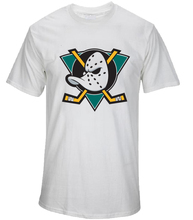 Mighty Ducks T-Shirt - Retro NHL Inspired League USA Mens Fan Gift Top(China)