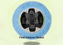 The 4pcs Dry Mop Cloth For UFO-1000 Mini Robot with 247ml Water tank robot(China)