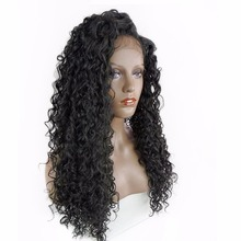 Pinksee Lady Synthetic Curly Long Clip in Hair Extensions Half Full Head One Piece Hairpiece Black Brown Blonde