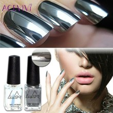 ACEVIVI 2Pcs/Set Matte Nail Polish Oil Magic Super Transparent Nails Art Gel Frosted Surface Nail Polish 6ML Women Nail Makeup(China)