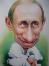 Design DIY Diamond Painting Putin caricatures crystal Embroidery cross-stitch icosn kits rhinestone home decoration - Leader Gift store
