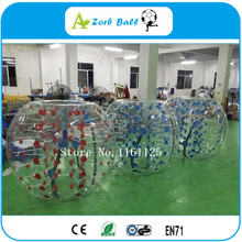 8pcs+2pump Hot Selling Bubble soccer with TPU material,good quality 1.5m bubble football suit,Inflatable knock ball for sale