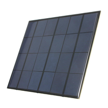 1pcs 3.5W 6V 583mA Monocrystalline silicon Epoxy Mini Solar Panel DIY Solar Module System Solar cells Battery Phone charger