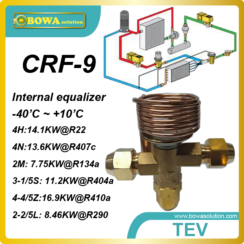 CRF-9 R22  four cooling ton internal TVX with thread connection replace Honeywell AMV, AMVX and TLEX<br><br>Aliexpress