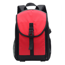 Coloful Oxford Multi-functional Digital DSLR Camera Video Bag Small DSLR Nikon Canon Camera Backpack for Teenage Women Men(China)