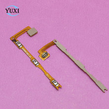 YuXi 1pcs Power On/Off Key + Volume Up/Down Side Button Flex Cable for Xiaomi Max Mi Max Cell Phone Replacement Repair Parts(China)