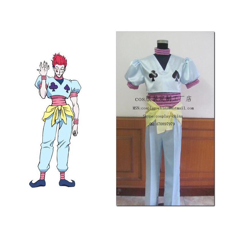 2016 Hunter X Hunter Hisoka Cosplay Costume