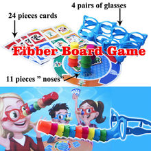 Family Fun Liar Board Game, Stretch The Truth, Your Nose May Grow, 2-4 Players educational  novelty Funy party game toys