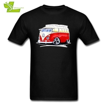 VW Bus Splitty 15-Win T Shirt Man Short Sleeve Tee Male Volkswagen Oversize Clothing Casual Classic Loose Dad Tee Shirts(China)