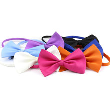Pet Dog Collar Scarf Bow Tie For Cat Puppy Teddy Dog Cat Collar Cute Bow Tie Necktie Bells for Dogs Pet Products Pet Grooming(China)
