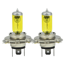 2 x H4 9003 HB2 P43T 12V 3000K 55W Golden Yellow Auto Car HOD Halogen Bulbs Xenon Lamps Ultra Upgrade Headlight Bulbs