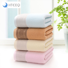 100% Cotton Solid Bath Towel Beach Towel For Adults Fast Drying Soft 4 Colors Thick High Absorbent Antibacterial
