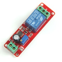 Free Shipping!!! New DC 12V Delay Timer Switch Adjustable Module 0 to 10 Second Promotion VE276 P