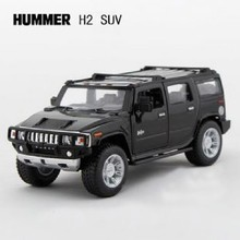 High Simulation Model Toys KiNSMART Car Styling Hummer H2 SUV Model 1:40 Alloy Car Model Excellent Baby Toys Gifts Collection(China)