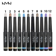Brand NYN Eyeshadow Pencil Waterproof Long-lasting Shimmer Eye Liner Pencil Automatic Eye Shadow Stick Make Up 1pc 11 Colors