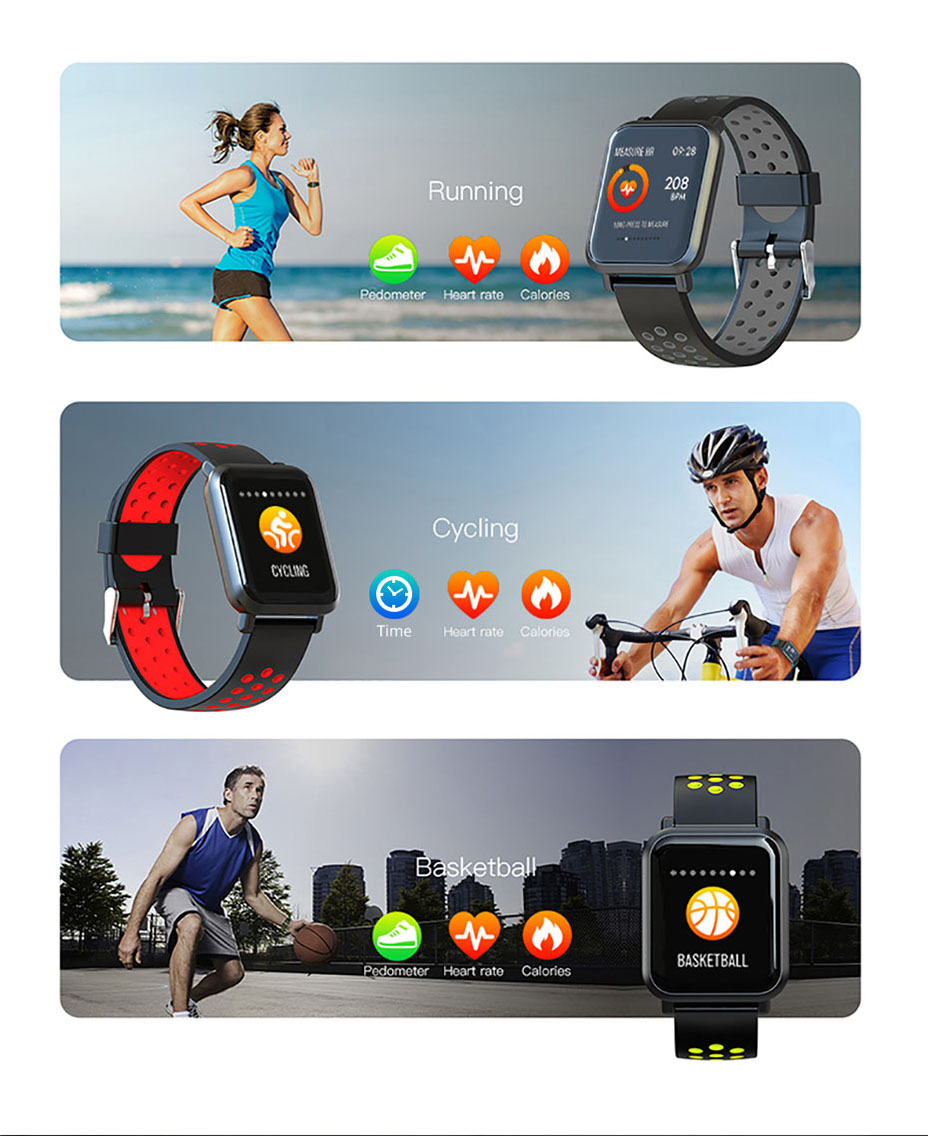 COLMI Smart Watch Men Tempered glass Fitness Tracker Blood pressure IP68 Waterproof Activity Tracker Women Smartwatch 14