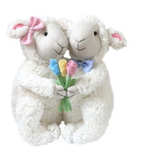 Cute Plush Doll Valentine's Day gift plush sheep doll soft sheep baby cute doll girl gifts(China)