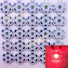 10PCS Epistar 3W 3535 Deep Red High Power 660NM Plant Grow LED  Light for Cabinet/Tank/Aquarium with 20MM PCB
