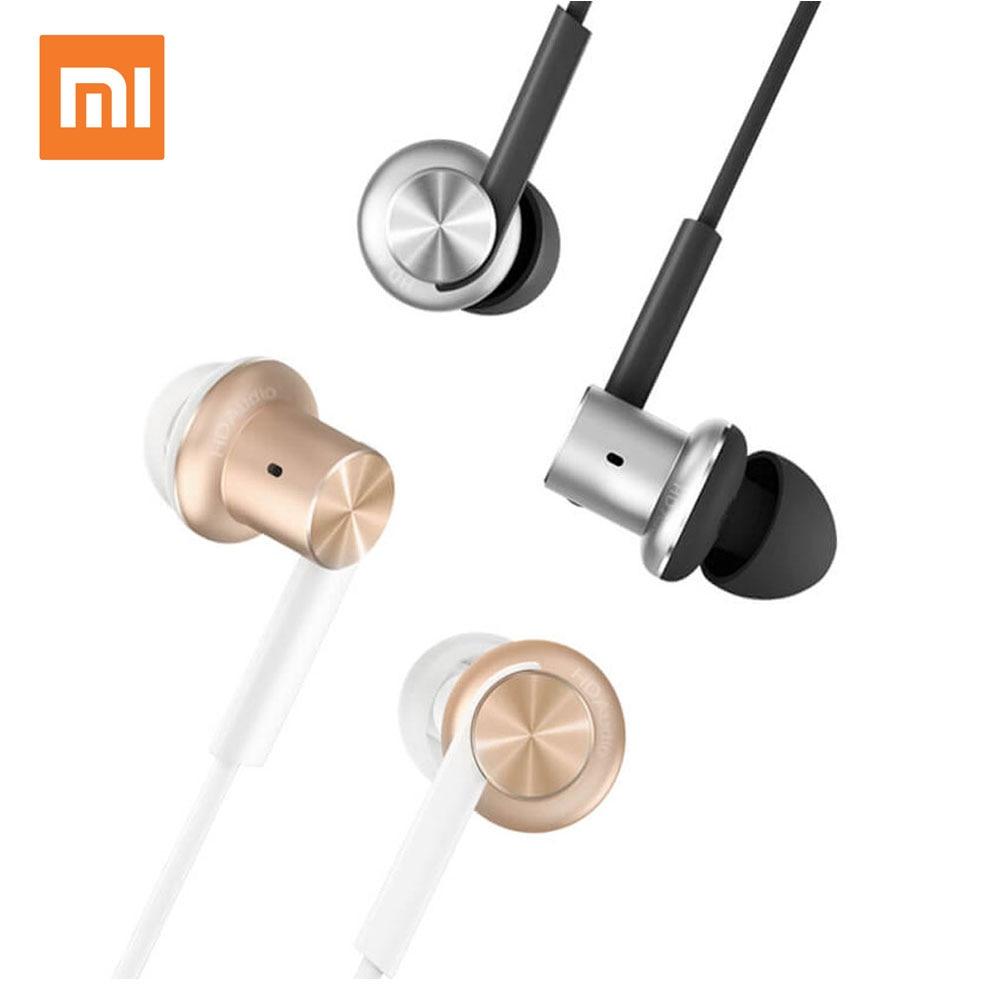 Xiaomi Hybrid In-Ear Stereo Earphones With Mic Earphone Silver Gold color<br><br>Aliexpress
