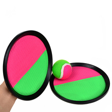 "BOHS Ball and Catch Game - Toss and Catch Sports Game Set - 7"" Diameter Disc Outdoor Interactive Game"