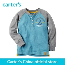 Carter's 1pcs baby children kids Long-Sleeve Colorblock Henley 243G598 ,sold by Carter's China official store