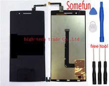 LCD Display + Digitizer Touch Screen for OPPO Find 5 X909 Assembly Complete Replacement Free tools