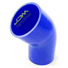 Blue Air Intake Universal Elbow 45 Degree Silicone Hose Reducer 3.0 inch 76 mm Connector Tube Elbow Coupler(China)
