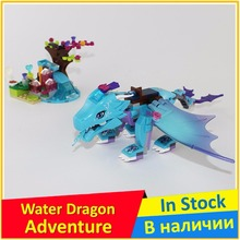 The Water Dragon Adventure 41172 Building Block Model Educational Toys Children BELA 10500 compatible Elves Lepin Brick Figure